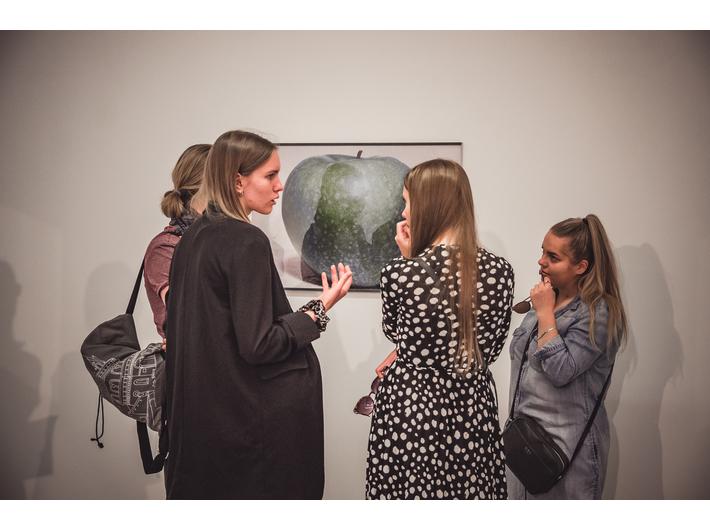 Michael Schmidt //LEBENSMITTEL// exhibition, photo: A. Stankiewicz