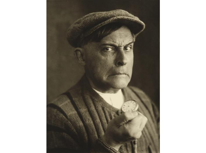 Stanisław Ignacy Witkiewicz, //Groźny bandyta//, 1931, fotografia, 11,7 × 8,5 cm, courtesy Muzeum Tatrzańskie w Zakopanem
