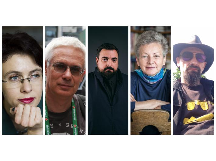 Joanna Hańderek, Konrad Szołajski, Tomasz Sekielski, Monika Płatek, Wojciech Kałużyński fot. materiały prasowe ZK Studio