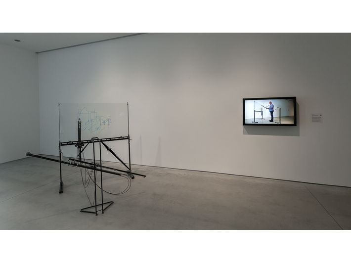 Adam Garnek, //Instrument wizualny – gitara//, 2010, obiekt, 150 × 180 × 150 cm, Kolekcja MOCAK-u