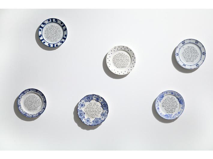Feiko Beckers, //Rzeczy, w które kiedyś wierzyłem, potem przestałem wierzyć, a teraz znowu wierzę//, 2015, instalacja, wymiary zmienne, Kolekcja MOCAK-u