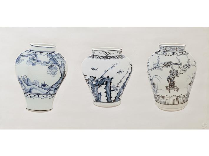 Lee Seung-hee, //TAO//, 2014, obiekt, 56,4 × 112,5 × 3,3 cm, Kolekcja MOCAK-u