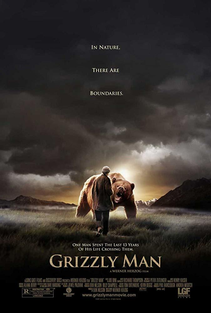 'Grizzly Man' film poster