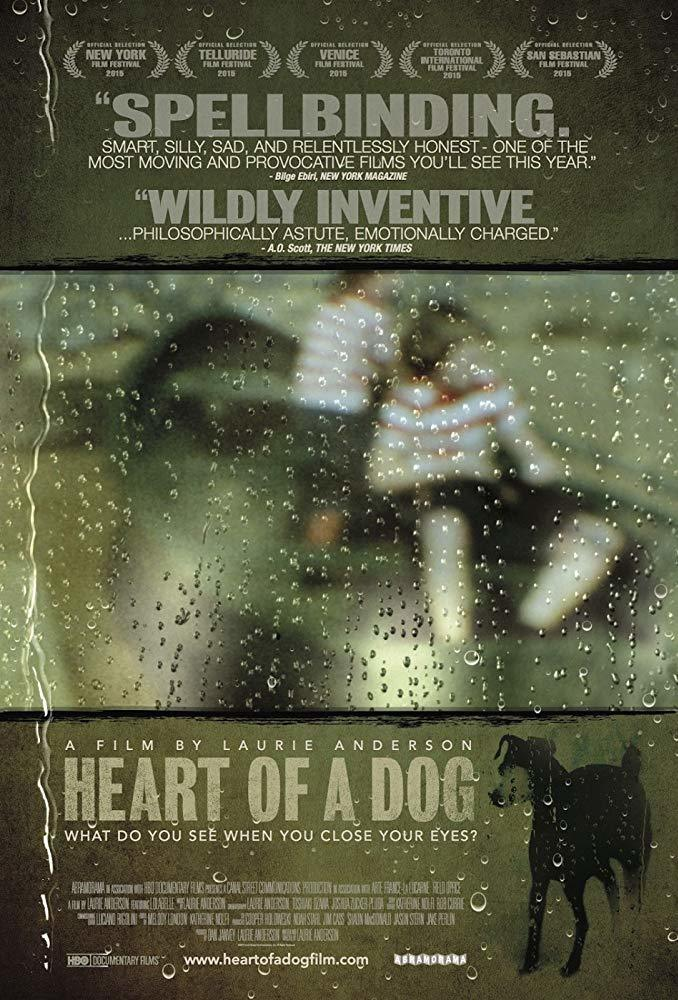 'Heart of a Dog' film poster