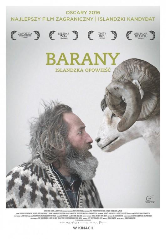 """Plakat do filmu """"Barany. Islandzka opowieść"""""""