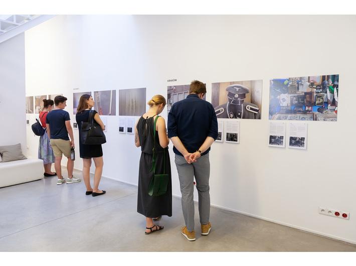Widok wystawy Dany Arieli //Polski fantom//, fot. R. Sosin