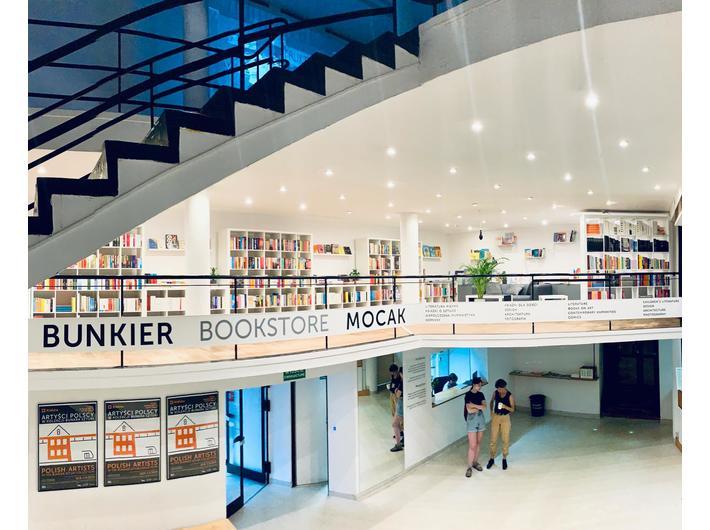 Bunkier Bookstore MOCAK, fot. K. Kowerska