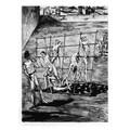 Rudolf Carl von Ripper, //Wychowanie obywatela//, 1938, akwaforta, 29,7 × 39,7 cm, courtesy Sachsenhausen Museum and Memorial Site1008