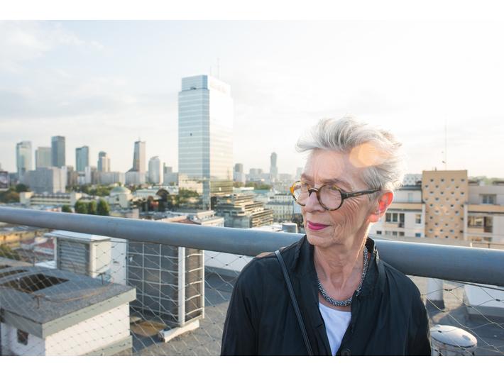 Anda Rottenberg, photo: J. Szafrański