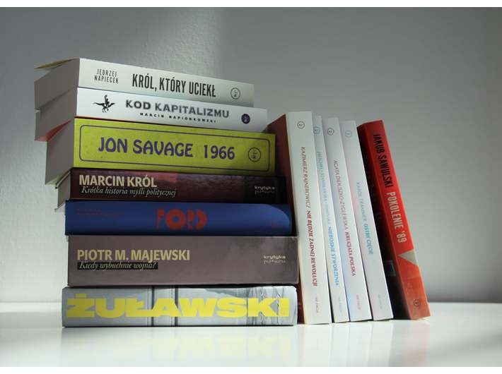 The new September book releases at the MOCAK Library, photo: A. Pakosz
