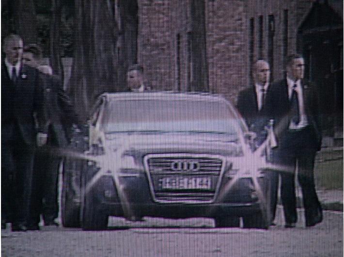 Mirosław Bałka, //Audi HBE F144//, 2008, wideo, 40 s, Kolekcja MOCAK-u