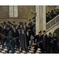 Mieczysław Wątorski, //The Arrest of UJ Professors//, 6 November 1939, mid-20th century, oil / canvas, courtesy Jagiellonian University Museum806