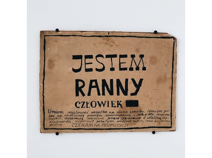 Wiesław Dymny, tusz / papier, 17 × 23,5 cm, courtesy Anna Dymna