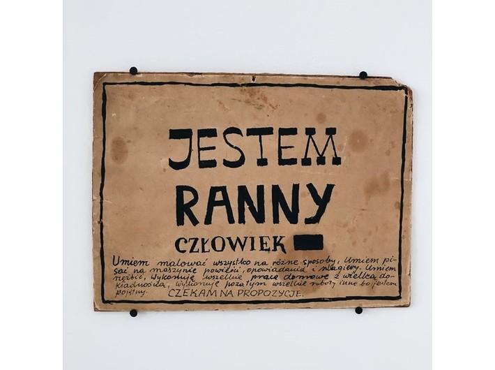 Wiesław Dymny, ink / paper, 17 × 23,5 cm, courtesy Anna Dymna