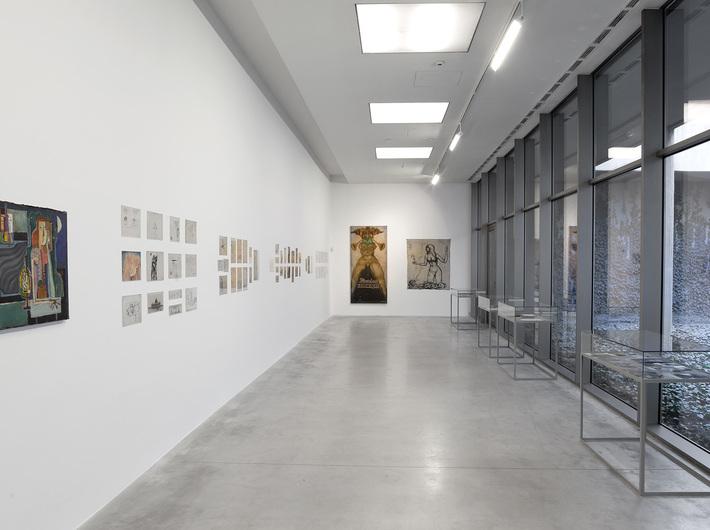 Wystawa Wiesław Dymny //Jestem ranny człowiek. Pisarz, aktor, malarz//, fot. R. Sosin