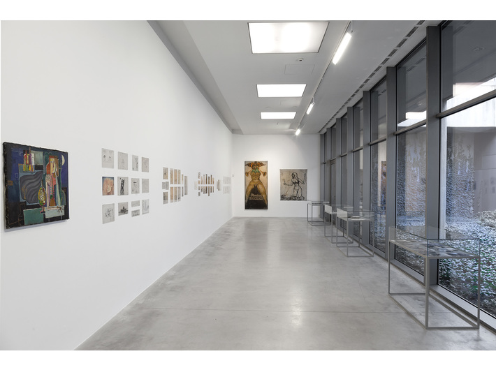 Wiesław Dymny //I Am a Wounded Man: Writer, Actor, Painter// exhibition, photo. R. Sosin