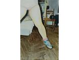 Marta Sala, //Noga we wnętrzu//, olej na płótnie, 2011, fot. archiwum Marty Sali1