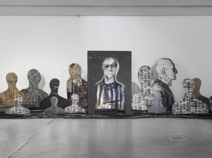 //World War II – Drama, Symbol, Trauma// exhibition, Józef Szajna, //Reminiscences//, 1969–1990, installation, Silesian Museum in Katowice. Photo: R. Sosin