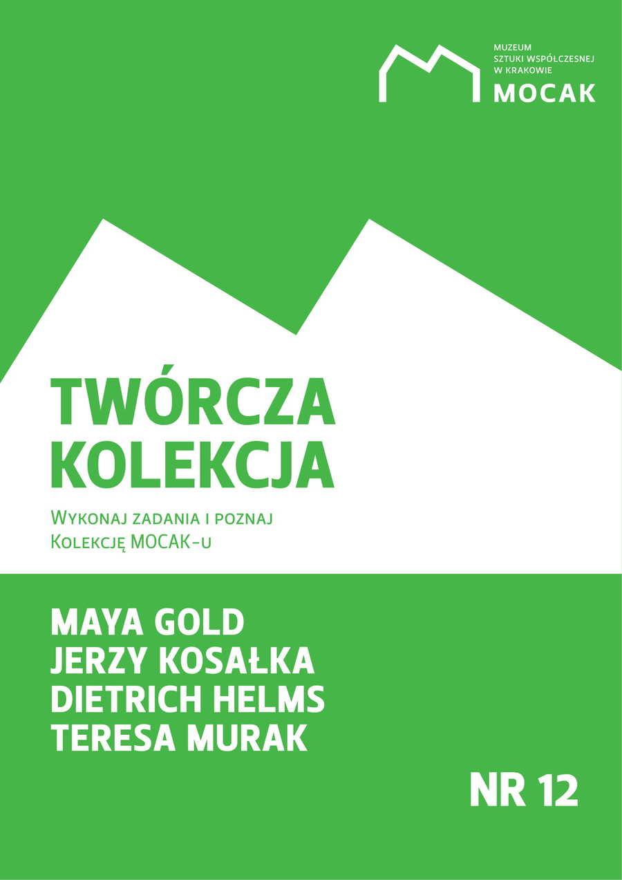 """Zeszyt edykacyjny """"Twórcza Kolekcja"""" nr 12"""