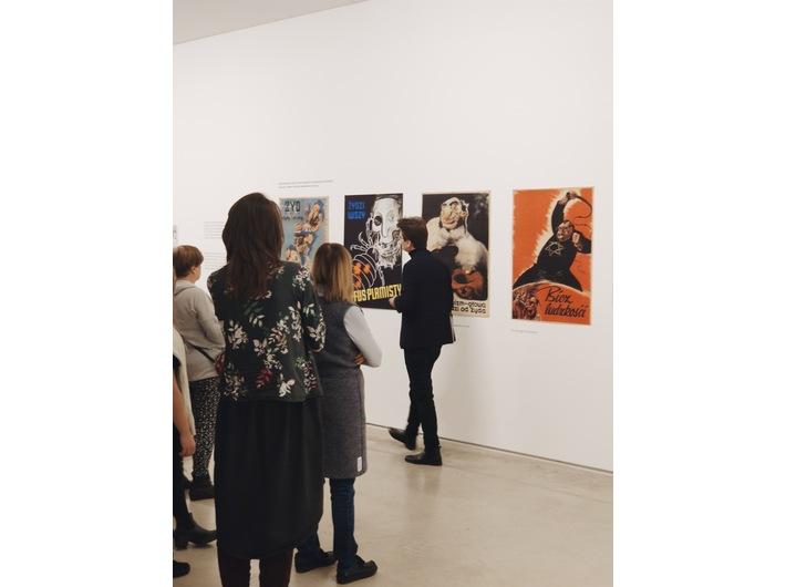 //World War II – Drama, Symbol, Trauma// exhibition, photo: Promotion Department