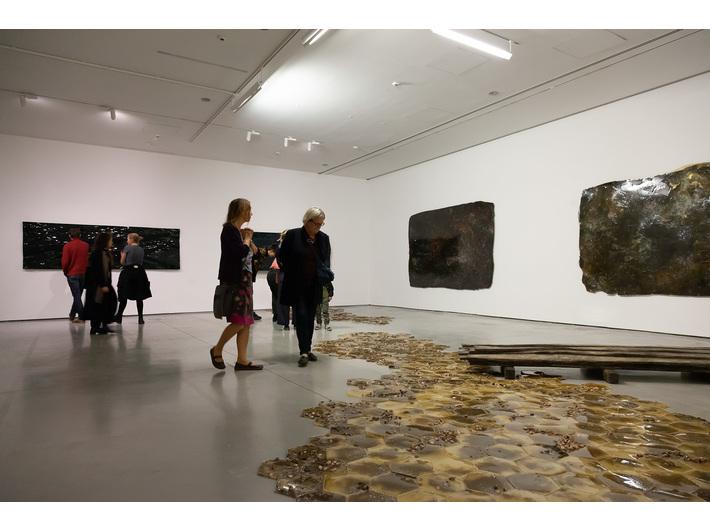Wystawa Guida Casaretta //Duchy materii//, fot. R. Sosin