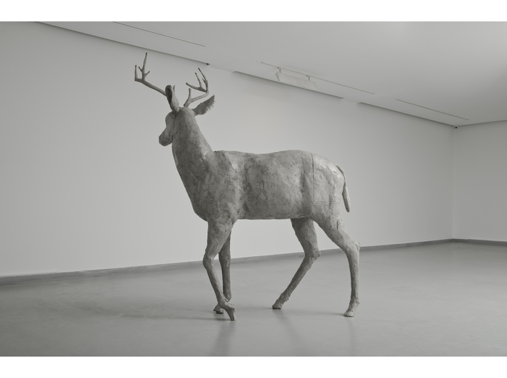 Guido Casaretto, //Pillar I//, 2014, concrete, 240 × 210 × 80 cm, courtesy Füsun & Lütfi Aygüler