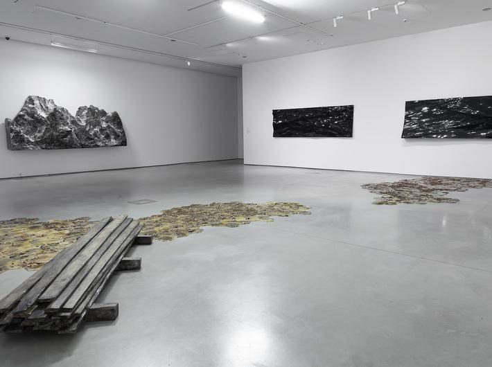 Guido Casaretto //The Ghosts of Matter// exhibition, photo: R. Sosin