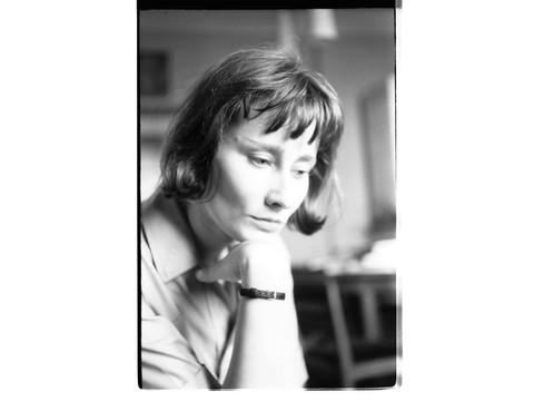 Halina Poświatowska, 1964, fot. R. Ingarden, foto © archiwum Krzysztofa Ingardena