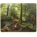 Muntean/Rosenblum, bez tytułu [Zrozumieli, że ich zdolność…], 2011, olej / płótno, 190 × 220 × 5 cm, Kolekcja MOCAK-u7