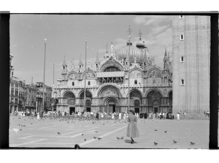 Venice, 1958, photo: R. Ingarden, photo © Krzysztof Ingarden Archive