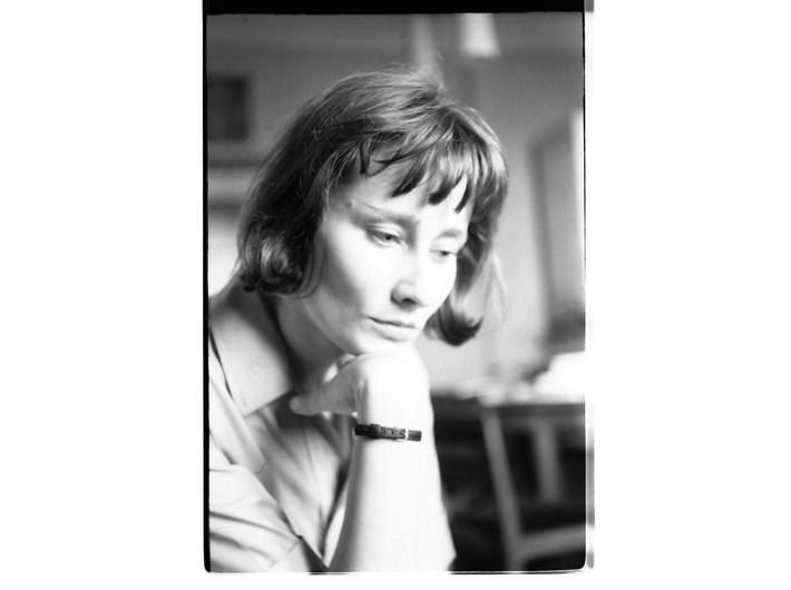 Halina Poświatowska, 1964, photo: R. Ingarden, photo © Krzysztof Ingarden Archive