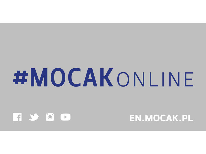 #MOCAKonline! We are here! Join us!