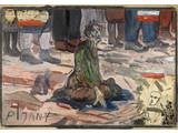 Edward Dwurnik //Pijany//, 1985, olej / płótno, 140 × 201 cm, Kolekcja MOCAK–u4