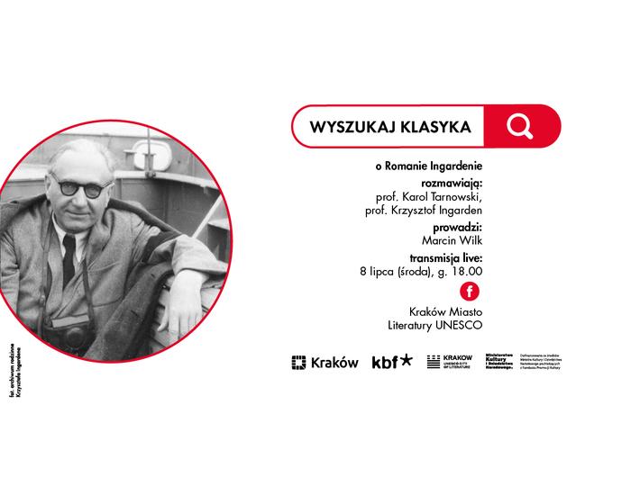 Materiały promocyjne  Kraków Miasto Literatury UNESCO