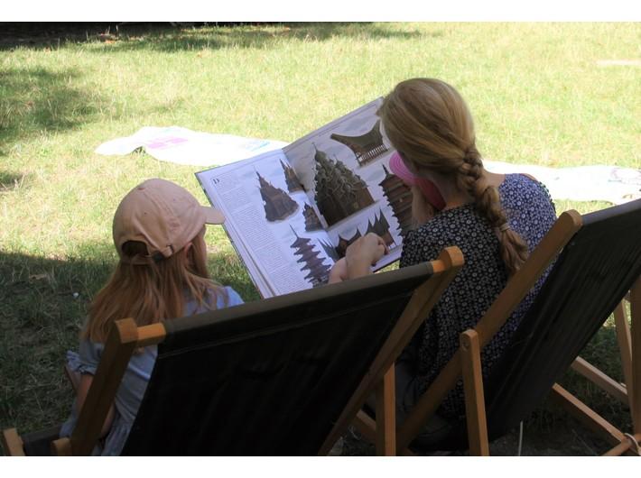 Piknik w Parku Bednarskiego, fot. Dział Wiedzy o Sztuce