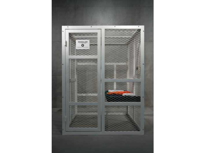 Tomasz Bajer, //Minimalism of Guantanamo//, 2008, installation, 200 x 150 x 200 cm, MOCAK Collection