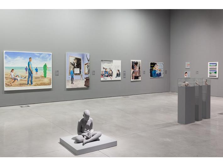 Wystawa //Współczesne modele realizmu//, fot. R. Sosin