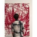 Wystawa //Dialog z przestrzenią//, Otto Zitko, bez tytułu, 1995, Kolekcja MOCAK-u, fot. Dział Promocji, MOCAK