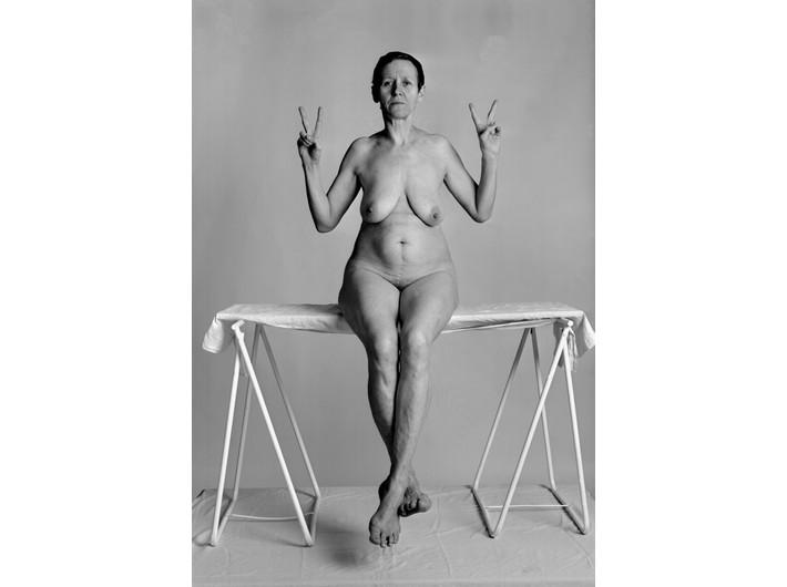 Katarzyna Górna, //Fuck me, Fuck you, Peace//, 2002, tryptyk fotograficzny, Kolekcja MOCAK-u