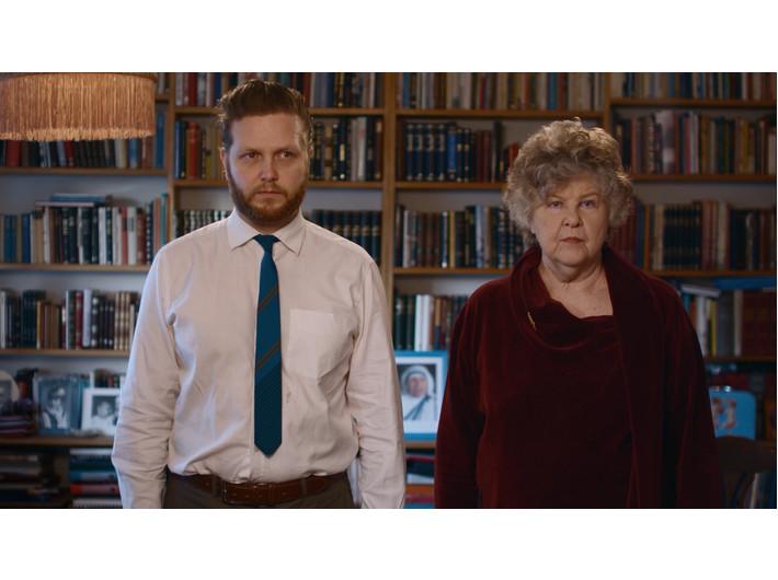 Ragnar Kjartansson, //Me and My Mother//, 2010, video, 20 min, MOCAK Collection