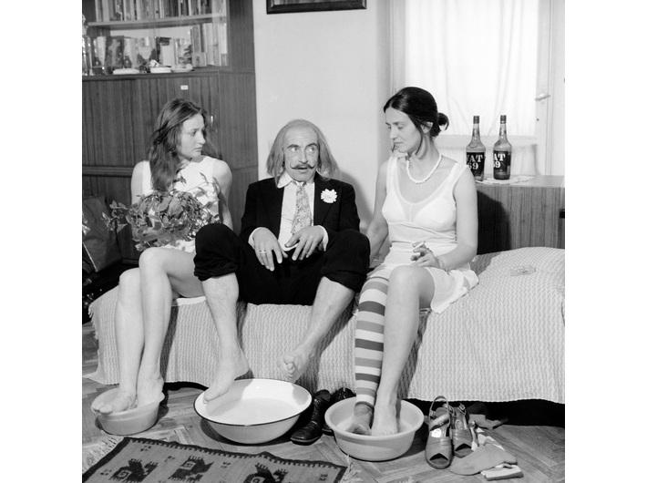 Marian Eile, //Dali w Krakowie//, 1978, Archiwum MOCAK-u
