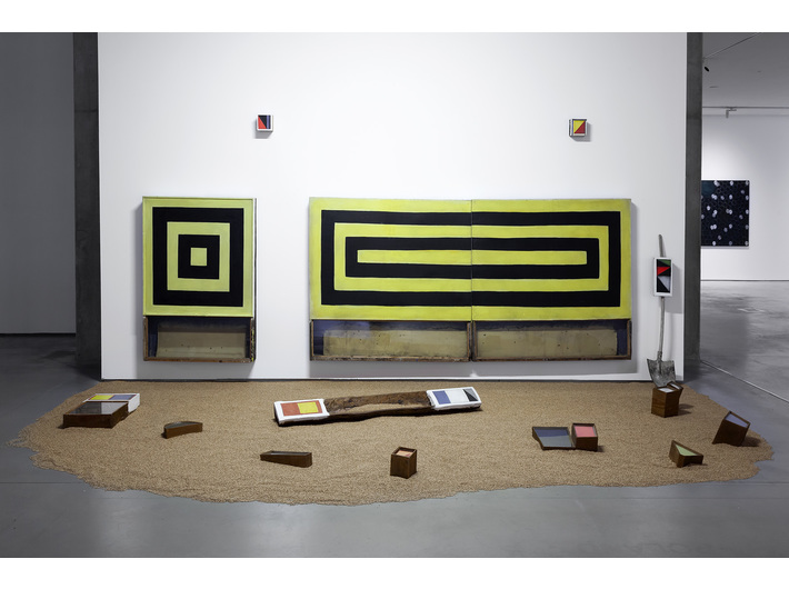 Piotr Lutyński, //Colour Field//, 2020, installation, 380 × 590 × 500 cm, courtesy P. Lutyński, photo: R. Sosin
