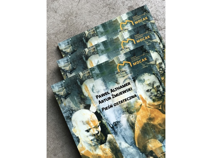 Publikacja //Paweł Althamer, Artur Żmijewski. Pieśń ostateczna//, fot. Dział Promocji, MOCAK