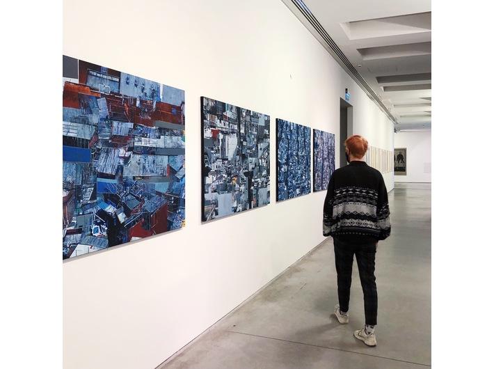 Exhibition //Artists from Krakow: The Generation 1950–1969//, works by Artur Przebindowski, photo: Promotion Department, MOCAK