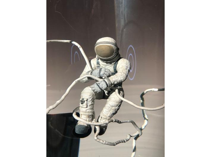 Wojciech Kuszaj, //Kosmonauta//, 2020, obiekt, 200 × 40 × 40 cm, courtesy W. Kuszaj, fot. Dział Promocji, MOCAK