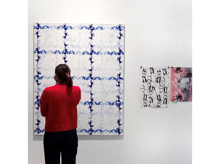 Widoczny fragment pracy Marka Chlandy, //Uzdrowisko//, 2011/2012, instalacja, wymiary zmienne, courtesy M. Chlanda, fot. Dział Promocji, MOCAK