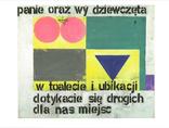 1. Reprodukcja pracy Pawła Susida Bez tytułu na białym tle2