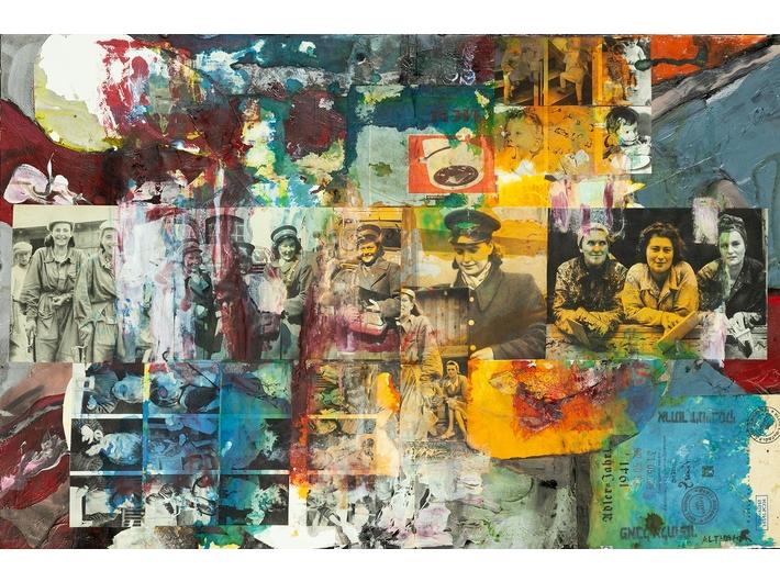 Paweł Althamer, Artur Żmijewski, bez tytułu, 2019, technika mieszana, 53,8 × 81,7 cm, courtesy P. Althamer / A. Żmijewski, Fundacja Galerii Foksal