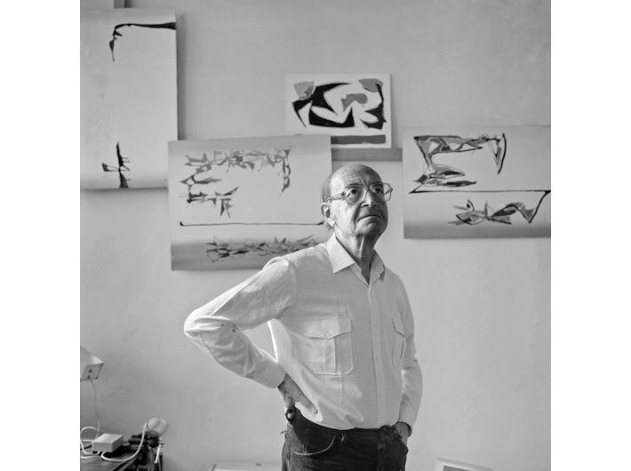 Marian Eile, 1983, fot. Wojciech Plewiński, courtesy W. Plewiński
