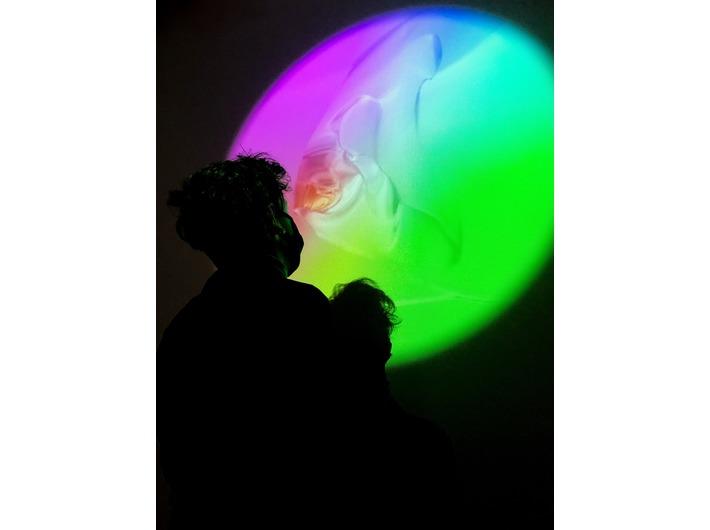 Sylwia Marszałek - Jeneralczyk, Erwin Jeneralczyk, //Under the Sea//, 2020, instalacja wideo, courtesy S. Marszałek - Jeneralczyk, E. Jeneralczyk, fot. Dział Promocji, MOCAK